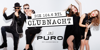 104.6RTL_Clubnacht_Puro_Hangover_1200x600px